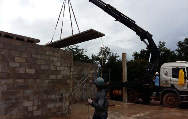 Projeto e Execução de Alojamento e Garagem de Equipamentos